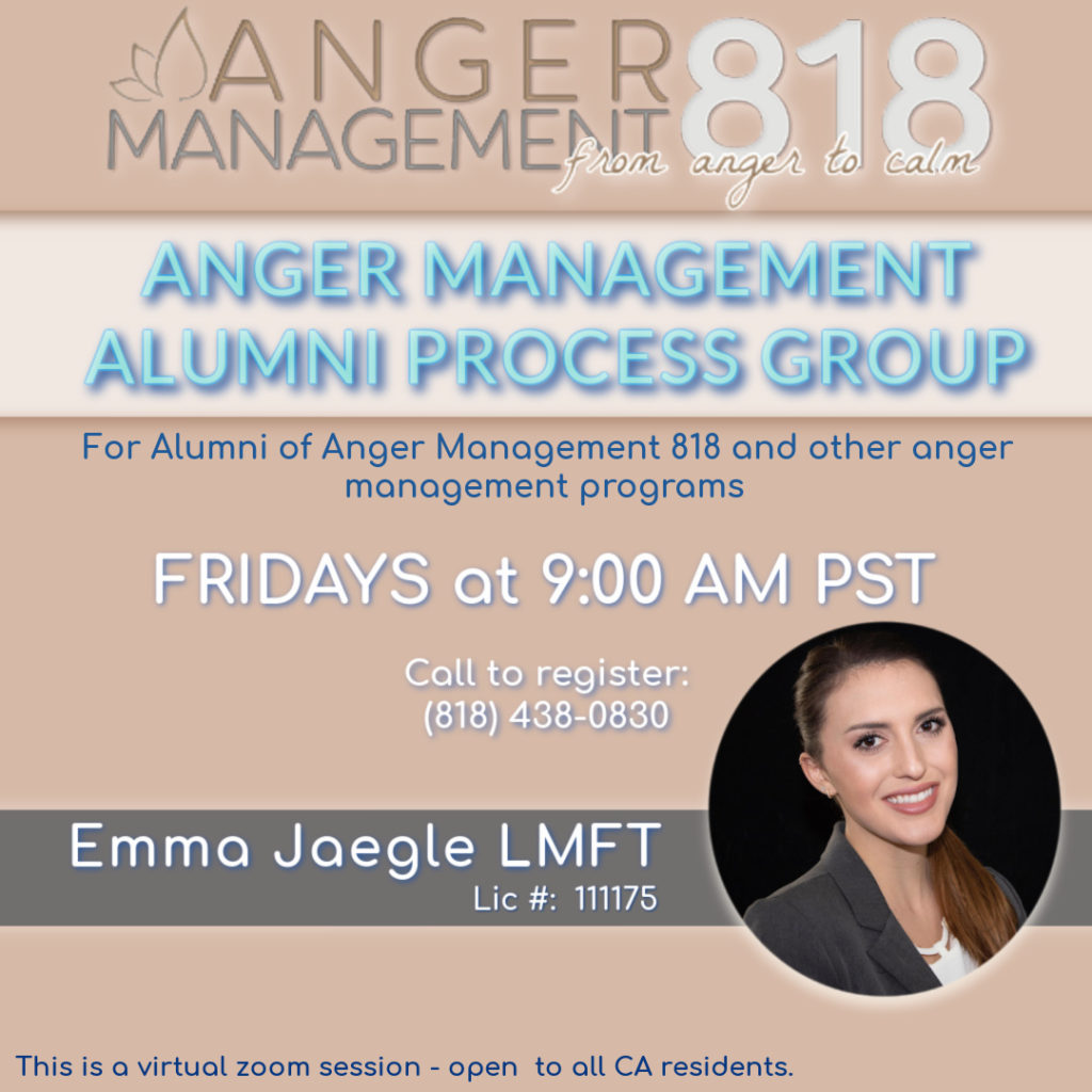 Anger Management Process Group